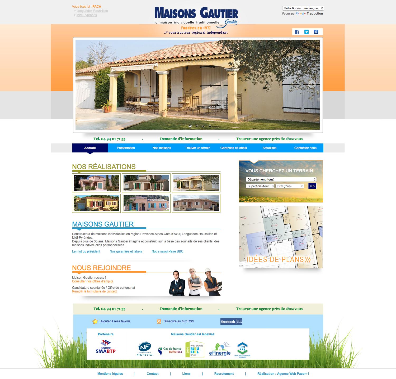 Maison gautier pacom1 - Les maisons gautier ...